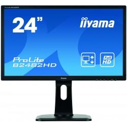 Refurbished Iiyama ProLite E2483HS   24'' Inch Widescreen  VGA   DVI-D   HDMI   1920 x 1080   Speakers