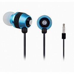"""In-Ear oordopjes met microfoon """"Turquoise"""""""