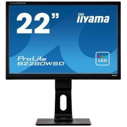 Refurbished Iiyama ProLite B2280WSD   22'' Inch Widescreen  VGA   DVI-D  1650 x 1050