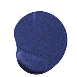 Muismat met gel polssteun, Blauw